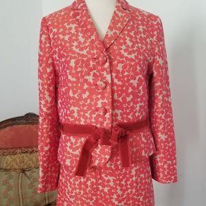 Moschino jacket skirt set